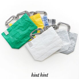 【30%★OFF】【2019SS】hint hint ヒントヒント PPトートバック(M) BAG 02(M)【RCP】