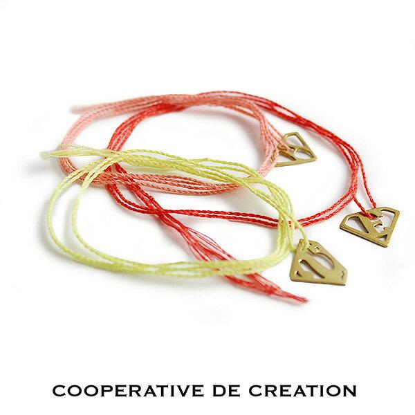 n【60%★OFF】COOPERATIVE DE CREATION コーペラティヴ ドゥ クレアシオン アルファベットプレートネックレス OB-0006(A/E/S)【RCP】