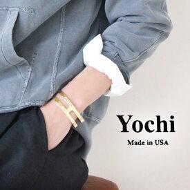 【60%★OFF】Yochi NEW YORK ヨキ ニューヨーク ゴールドバングル 53532-09617【RCP】