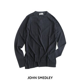 【20%★OFF】JOHN SMEDLEY ジョンスメドレー ロングスリーブクルーネックニット A4343【RCP】