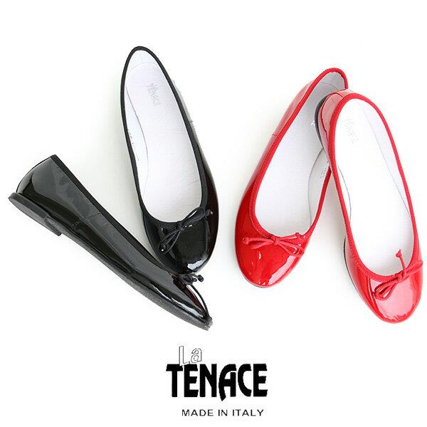 o【SALE★対象外】【送料無料】La TENACE ラテナーチェ パテントバレエシューズ 882(VERNICE)【RCP】
