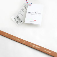 【2019AW】MAISONBOINETメゾンボワネダブルバックルレザーベルト93524G【RCP】