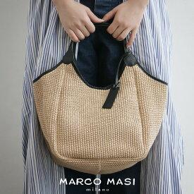 【30%★OFF】【2019SS】MARCO MASI マルコマージ ハンドルレザーバッグ(小) 2140【RCP】カゴバッグ