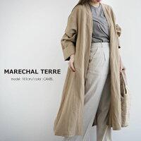【2020SS】MARECHALTERREマルシャルテルリネン/レーヨンAラインコートZMT202CO538【RCP】