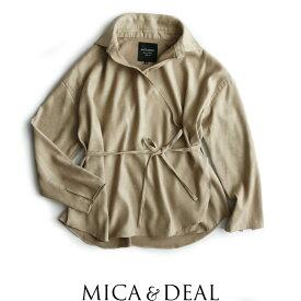 【70%★OFF】MICA&DEAL マイカアンドディール カシュクールシャツ M17D163【RCP】MSS