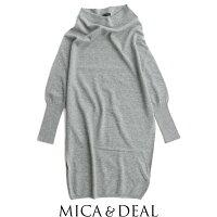 【2018AW】【送料無料】MICA&DEALマイカアンドディールホールガーメントドルマンプルオーバーM18C139【RCP】