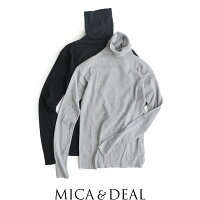 【2019AW】MICA&DEALマイカアンドディールルーズタートルネックプルオーバーM19C149【RCP】