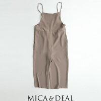 【2020SS】MICA&DEALマイカアンドディールワイドサロペットM20A049【RCP】