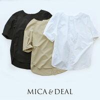 【2020SS】MICA&DEALマイカアンドディールラグランタックスリーブブラウスM20B085SH【RCP】