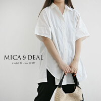 【2020SS】MICA&DEALマイカアンドディールバックタックチュニックM20B108OP【RCP】