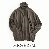 【2020AW】MICA&DEALマイカアンドディールタートルネックプルオーバー0120408222【RCP】セットアップ