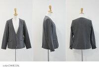 【2020SS】MICA&DEALマイカアンドディールノーカラーボックスジャケットM00E007JK/D14A0017【RCP】卒園式・卒業式・入園式・入学式・授業参観・オケージョン・卒業式スーツ