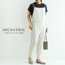 【2021SS】MICA&DEAL×MMN【別注アイテム】マイカアンドディール サロペット 0121204124【RCP】