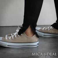 【2018AW】【送料無料】MICA&DEALマイカアンドディールサイドジップリブレギンスM18D226【RCP】