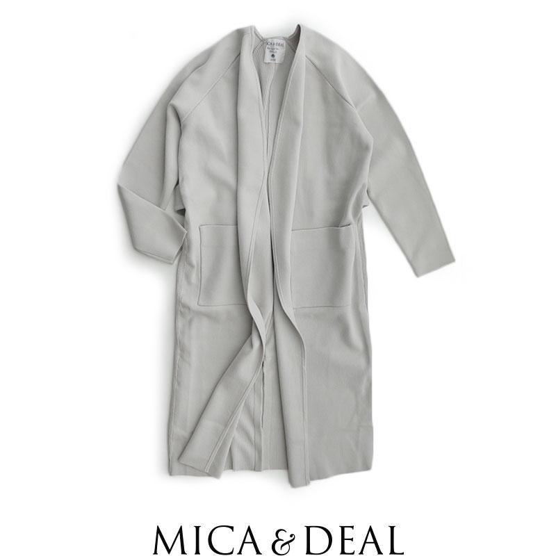 【2019SS】【送料無料】MICA&DEAL マイカアンドディール ニットコーディガン M19A019【RCP】