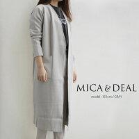 【2019SS】【送料無料】MICA&DEALマイカアンドディールニットコーディガンM19A019【RCP】