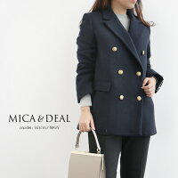 【2019AW】MICA&DEALマイカアンドディールメルトンジャケットコートM19D274【RCP】