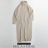 【2019AW】MICA&DEAL×MMN【別注アイテム】マイカアンドディールホールガーメントニットワンピースM19D281【RCP】