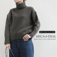 【2019AW】MICA&DEAL×MMN【別注アイテム】マイカアンドディールタートルネックニットプルオーバーM19D280【RCP】