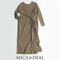 【2020SS】MICA&DEALマイカアンドディールツイストワンピースM20A044【RCP】