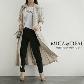 【2020SS】MICA&DEAL マイカアンドディール ロングトレンチコート M20A058【RCP】