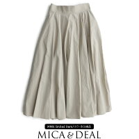 【2020SS】MICA&DEAL×MMN【別注アイテム】マイカアンドディールサーキュラースカートM20A029【RCP】