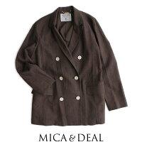 【2020SS】MICA&DEALマイカアンドディールリネンダブルジャケットM20A053【RCP】