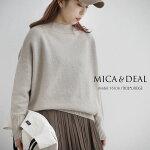 【2020AW】MICA&DEAL×MMN【別注カラー】マイカアンドディールホールガーメントボトルネックプルオーバー0120408227【RCP】