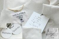 【2020SS】MICA&DEALマイカアンドディールノーカラーバックベルトコートM20A056【RCP】