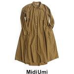 【2019AW】【送料無料】MidiUmiミディウミテントシャツワンピース3-757846【RCP】