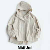 【2020SS】MidiUmiミディウミコットンリネンフレアショートジャケット1-778028【RCP】コート・マウンテンパーカー・マンパー