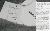 【2019AW】MIDIUMISOLIDミディウミソリッドロングカーディガン3-122738【RCP】