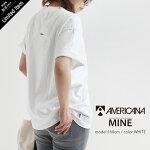 【2021SS】MINE×AMERICANA【別注アイテム】ショートスリーブTシャツMA-01【RCP】マイン×アメリカーナ
