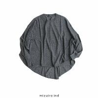 【2019AW】mizuiro-indミズイロインドコクーンプルオーバー3-228500【RCP】