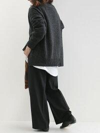【10%★OFF】DONEEYUドニーユ裏起毛ワイドパンツU2737【RCP】