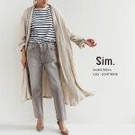 【2021SS】Sim.×MMN【別注アイテム】シムシルクコットンクルーネックワイドプルーオーバーS206KM064【RCP】