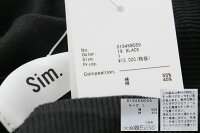 【2019AW】【送料無料】Sim.×MMN【別注アイテム】コットンシルクカーディガンS194KM059【RCP】