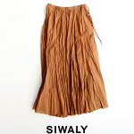 【2021SS】SIWALYシワリーフレアギャザーロングスカート521106【RCP】