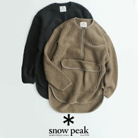 【2019AW】snowpeakスノーピーククラシックフリースプルオーバーSW-19AU005【RCP】