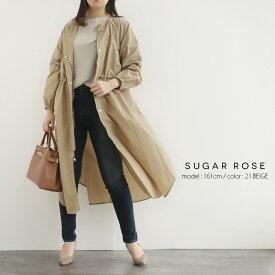 【2020SS】SUGAR ROSE シュガーローズ 軽量ロング春モッズコート 298093【RCP】