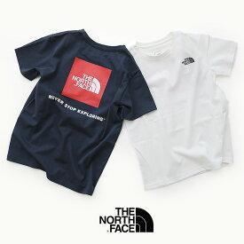 【2020SS】【kids】THE NORTH FACE ザ・ノースフェイス S/S Square Logo Tee ショートスリーブスクエアロゴティー(キッズ)NTJ81827【RCP】