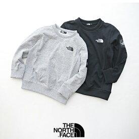 【2020SS】【kids】THE NORTH FACE ザ・ノースフェイス Square Logo Crew スクエアロゴクルー(キッズ) NTJ61922【RCP】SWEAT スウェット