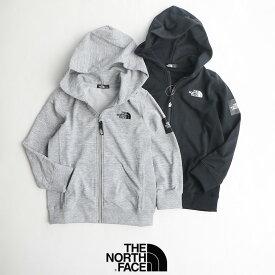 【2020SS】【kids】THE NORTH FACE ザ・ノースフェイス Square Logo Full Zip スクエアロゴフルジップ(キッズ) NTJ61921【RCP】