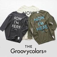 【2019AW】【kids】THEGROOVYCOLORSグルービーカラーズ裏毛I'MHEREBALLOONスウェット1698416【RCP】