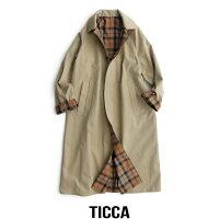 【2019AW】【送料無料】TICCAティッカリバーシブルステンカラーコートTAIA-072【RCP】