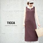 【2020SS】TICCAティッカニットキャミソールワンピースTBKS-262【RCP】