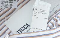 【2020SS】TICCA×MMN【別注アイテム】ティッカスクエアビッグロングシャツTBKS-323/TBKS-333【RCP】マルチストライプ