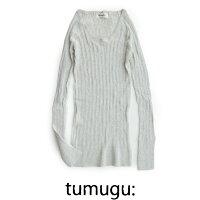 【2018AW】tumuguツムグランダムリブニットTK9407【RCP】