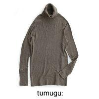 【2018AW】tumuguツムグタートルコットンリブニットTK16426【RCP】