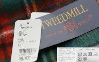 【2019AW】TWEEDMILLツイードミルウール大判ストールマフラー(check)70-190【RCP】